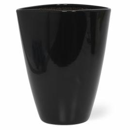Watergeefsysteem Aqua for Weeks in keramiek zwart