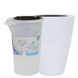 Watergeefsysteem Aqua for Weeks in keramiek wit